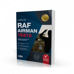 RAF Airman Tests Book